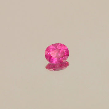 Hot Pink Sapphire Loose Faceted Gemstone for Engagement Ring Weddings Anniversary Gemstone Jewelry