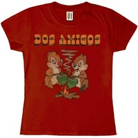 Chip 'N Dale - Dos Amigos Juniors T-Shirt