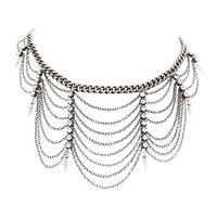 Ettika | Heriess of Egypt Silver Chain Choker
