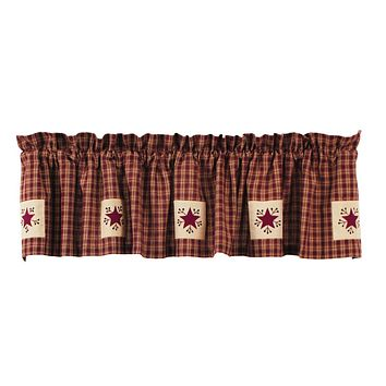 Cambridge Wine Star Valance
