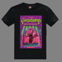 Goosebumps Night of The Living Dummy Shirt , Short Sleeves Screenprint T Shirts , Pop Rock Tshirt , Unisex Adults Size S - XXL (TS1049)