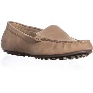 Aerosoles Over Drive Slip-On Loafers, Light Tan, 5.5 US