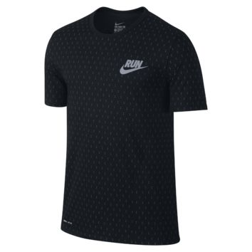 Nike Run Digital Dots Men's T-Shirt