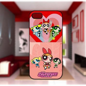powerpuff girls disney Case For iPhone 4/4S iPhone 5 Galaxy S2/S3