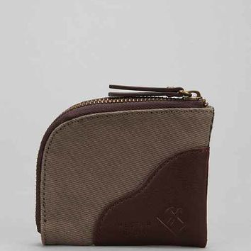 Hester St. Trading Co. Canvas Zip Wallet-