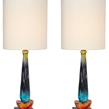 Van Teal 540472PR Hanzi 36 Table Lamps Set
