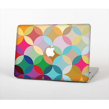 "The Overlaping Colorful Connect Circles Skin Set for the Apple MacBook Pro 15"" with Retina Display"