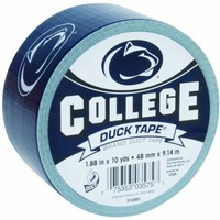 Duck Brand 240275 Penn State University College Logo Duct Tape, 1.88-Inch by 10 Yards, Single Roll