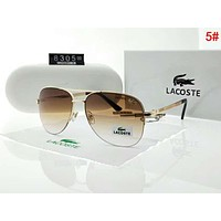 Lacoste Popular Men Women Casual Sun Shades Eyeglasses Glasses Sunglasses 5#