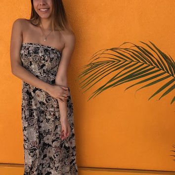 SWEET DREAMS MAXI- BROWN from shopoceansoul