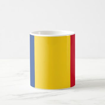 Mug with Flag of Romania