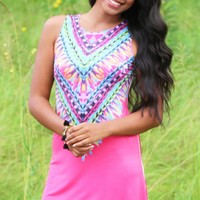 Land Of Sunshine Dress in Coral   Monday Dress Boutique