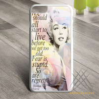 Marilyn Monroe Quote Custom case for iPhone, iPod and iPad