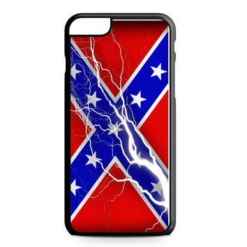 Confederate Rebel Flag Thunder iPhone 6 Plus Case