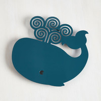 Nautical On a Whale of One to Ten Trivet by ModCloth
