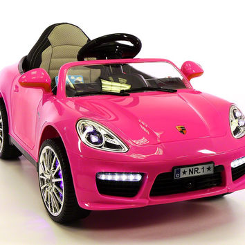 Sport Style 12V Kids Ride-On Toy Car MP3,Battery Powered Wheels RC Remote | Pink