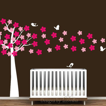 Nursery Cherry Blossom Wall Decal