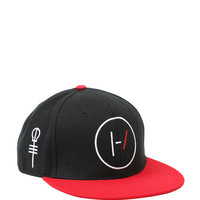 Twenty One Pilots Logo & Skeleton Clique Key Snapback Hat