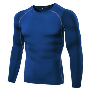 Compression Long Sleeve Quick Dry T-Shirt