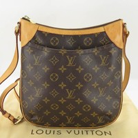 AUTH LOUIS VUITTON M56390 MONOGRAM ODEON PM SHOULDER BAG EY318