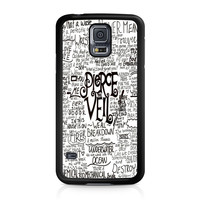 Pierce The Veil Song Lyric Samsung Galaxy S5 case