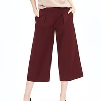 Banana Republic Womens Monogram Pleated Gaucho Pant