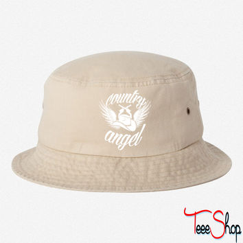Country Angel bucket hat