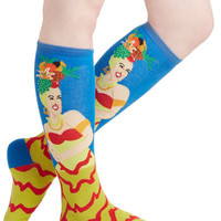 ModCloth Fruits Fruitful Frolic Socks