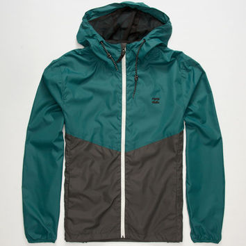 Billabong New Force Mens Windbreaker Deep Sea  In Sizes