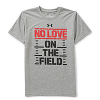 Under Armour 8-20 No Love On The Field Short-Sleeve Tee - True Grey He