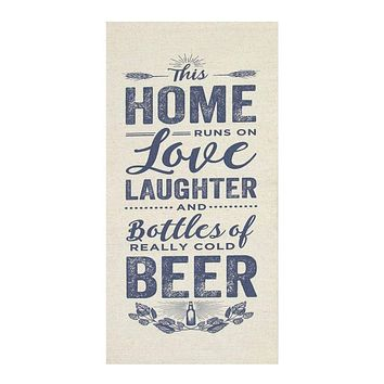 Home, Love and Beer Wall Art By Stratton Home Décor