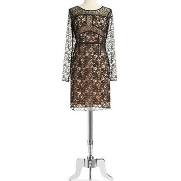 Ivanka Trump Lace Shift Dress