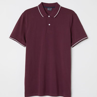 Premium Cotton Polo Shirt - from H&M