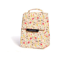 Insulated Lunch Bag - 100% organic cotton canvas.  Durable, lightweight and washable.