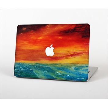 "The Abstract Sunset Painting Skin Set for the Apple MacBook Pro 15"" with Retina Display"