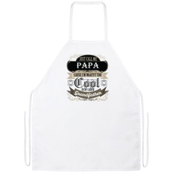 They Call Me Papa Apron BBQ Apron