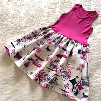 Raspberry Paris Stroll Dress - Infant, Toddler & Girls | something special every day