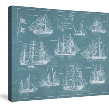 Sailing Ships Canvas Wall Art