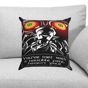 majora mask legend of zelda Custom Pillow Case for One Side and Two Side