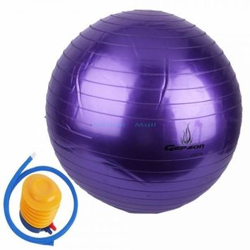 Exercise Stability Yoga Ball Anti-Burst Yoga Ball Slip Resistant with Pump