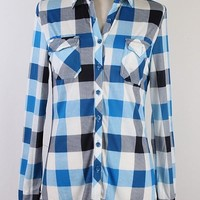 Sky Blue Plaid