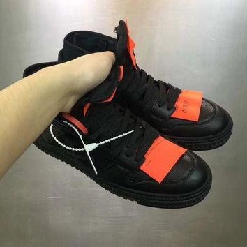 DCCKU1Q OFF-WHITE 2018 new casual shoes