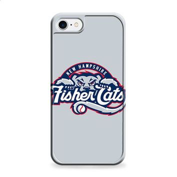 NEW HAMPSHIRE FISHER CATS BASEBALL LOGO GRAY iPhone 6 | iPhone 6S case