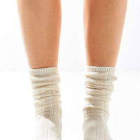 Slouchy Ribbed Sock | Urban Outfitters
