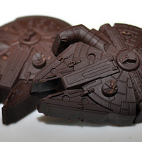 SALE 4 Chocolate Star Wars Millennium Falcons 7.50 buy one set get one half off