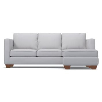 Catalina Reversible Chaise Sofa in STONE - CLEARANCE