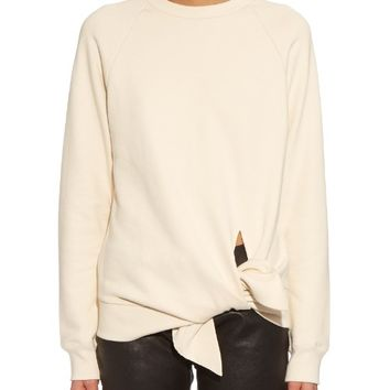 Hemline-slit cotton sweatshirt | Joseph | MATCHESFASHION.COM US