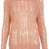 Knitted Open Stitch Jumper - Apparel  - New In  - Miss Selfridge US