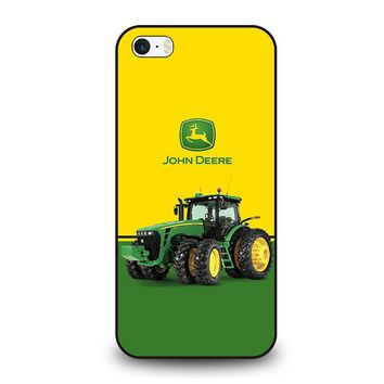 JOHN DEERE WITH TRACTOR iPhone SE Case Cover