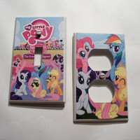 My Little Pony Light Switch/Outlet Covers - set of 2